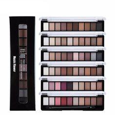 Wodwod Makeup Brand Earth Color Eyeshadow Palette Glitter Eye Palette