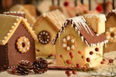 クリスマスイブのお菓子の家 Homemade Gingerbread Houses (Hexenhaus)の画像:お茶の時間にしましょうか-キャロ&ローラのちいさなまいにち- Caroline & Laura's tea break