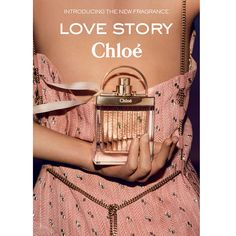Chloe Love story would be the perfect Mothers day gift as it is one of the latest Chloe Perfume. It's clean & floral fragrance will leave mother dearest feeling a million bucks Perfume Adverts, Beauty Ad, Valentino, Cosmetics & Perfume, Influencer, New Fragrances, Vintage Perfume, Lotions, Fragrance