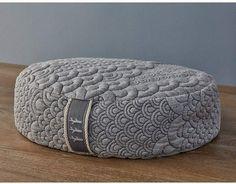 Brentwood Home Crystal Cove Buckwheat Filled Meditation Pillow #yoga #meditation