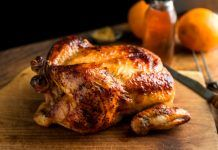 Tennessee Roast Chicken with Allegro Marinade. Bring the smooth taste of Tennessee to your table with this Tennessee Whiskey Marinade. Our special blend of herbs and spices are complemented by the full body flavors of Tennessee Whiskey. Best Roasted Chicken, Roast Chicken Recipes, Cumin Chicken, Braised Chicken, Chicken Gravy, Mexican Chicken, Chicken Legs, Bbq Chicken, Rotisserie Chicken