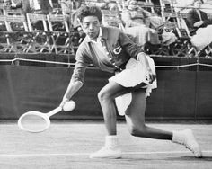 Althea Gibson not only broke the style rules on the grass court at Wimbledon, but was also the first black American to win the women's championship title. Althea Gibson, Famous Quotes, Best Quotes, American Tennis Players, Tennis Whites, Person Of Color, Professional Women, African American Women, Wimbledon