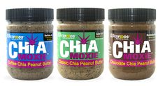 New York Superfoods produces a line of chia seed products including raw chia health energy bites, peanut butters and seed shaker bottles. These seeds are considered superfoods filled with antioxidants and other essential nutrients.