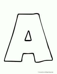 Free Printable Alphabet Templates  Escuela