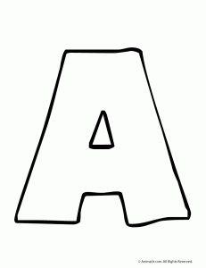 Free Printable Alphabet Stencils | Printable Block Letter Stencils ...