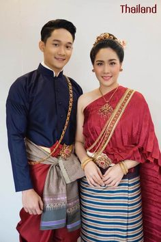Traditional Thai Clothing, Ethnic, Thailand, Sari, Costumes, Clothes, Fashion, Guys, Saree