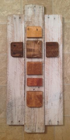 Deconstructed Cross from reclaimed wood