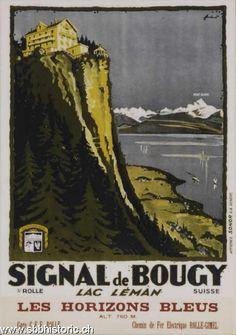 Signal de Bougy. Lac Léman