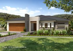 Tullipan Home Designs: The Casablanca Downslope design. Visit www.localbuilders.com.au/builders_nsw.htm to find your ideal home design in New South Wales