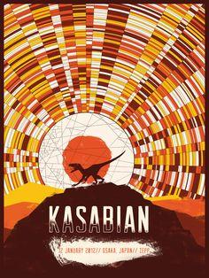 Kasabian - Marinko Milosevski Illustration and Design
