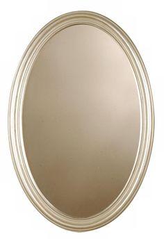 "Uttermost Franklin Oval 32"" High Wall Mirror"
