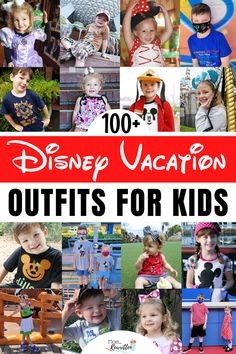 Looking for great Disney outfits for kids to wear at Disneyland and Disney World? These are 100+ ideas to dress kids from head-to-toe inside the Disney theme parks including comfortable Mouse Ears, t-shirts, making boutique clothes and the best shoes for amusement parks. Find out where to get matching family outfits, coordinating sibling sets and the most unique and adorable outfits, all with comfort in mind for children and babies. Tips on dressing in costume, Bibbidi Bobbidi Boutique and more! Disney Vacation Outfits, Disney Vacations, Best Vacation Spots, Vacation Resorts, Disney Theme, Walt Disney, Disney Photo Pass, Dumbo The Flying Elephant, Dress Up Shoes