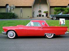 1957 Red Thunderbird | Flickr - Photo Sharing!