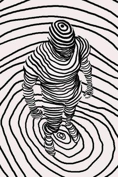 Linhas e a percepção de volume
