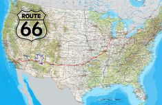 Wallpaper Route 66 Map, Road, Usa, Highway, North America America And Canada, North America, City Wallpaper, Iphone Wallpaper, Usa Road Map, Route 66 Map, Iphone 2g, Most Beautiful Wallpaper, Great Backgrounds