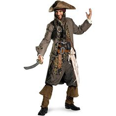 [HALLOWEEN] Captain Jack Sparrow Costume - $305.88 with FREE SHIPING WORLDWIDE! 2 DAYS for ALL USA DELIVERY!!! visit our site ->>> http://HALLOWEEN-CLOTHES.CF