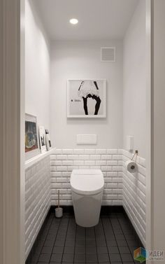 Scandinavian bathroom design ideas with white shades that you . - Scandinavian bathroom design ideas with white shades that you - Scandinavian Bathroom Design Ideas, Bathroom Design Small, Small Toilet Design, Scandinavian Style, Bath Design, Tile Design, Toilet Tiles Design, Scandinavian Toilets, Washroom Design