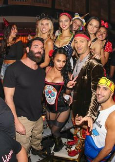 Poker player and social media sensation Dan Bilzerian was spotted at LAVO for the latest installment of Party Brunch on Saturday (Photo credit: Al Powers, Powers Imagery).