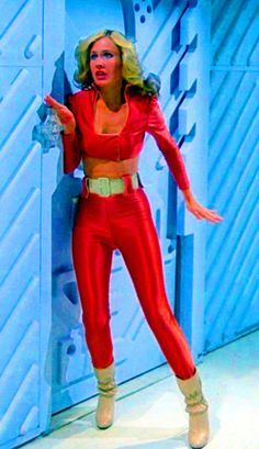 Erin Gray as Wilma Deering in Buck Rogers in the Century tv series Erin Gray, Sci Fi Tv, Sci Fi Movies, Hollywood Actresses, Actors & Actresses, Monaco, Bikini Beach Pics, Buck Rodgers, Celebrity Boots