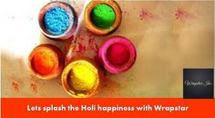 Perhaps one of the most visually spectacular Hindu festivals celebrated across India, #Holi is the festival of fun and playing with beautiful colours.