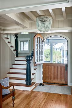 You are going to be dreaming of a beach vacation after seeing this incredible Bald Head Island beach house! Interior designers VickySerany and Julia Ross from Southern Studio Interior Design, an a…