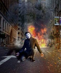 V For Vendetta Comic, V Pour Vendetta, Alan Walker, Hacker Art, Ghost Rider Wallpaper, Scary Dogs, Smoke Cloud, Fight The Power, Guy Fawkes