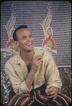 Harry Belafonte by Carl Van Vechten on February 18, 1954. Photo: Beinecke Rare Book and Manuscript Library