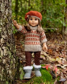 Dolly Dorm Diaries ~ Our American Girl Doll Blog Adventures : { My New Fall Sweater Outfit }
