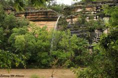 V-Notch Falls in Steel Creek area -- via ExploringNWArkansas.com