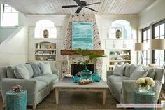 Living Room: Tracery Interiors
