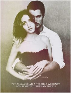 Exactly how I pictured Gabriel and Julia in Gabriels Inferno series!!!