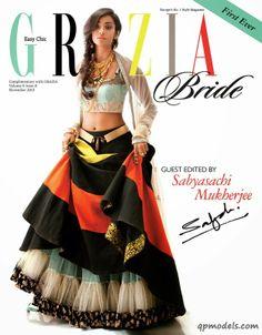 Nidhi Sunil & Radhika Nair for Grazia Bride India (November 2013) - http://qpmodels.com/interesting/4634-nidhi-sunil-radhika-nair-for-grazia-bride-india-november-2013.html