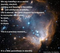 we are travelers on a cosmic journey - Google Search