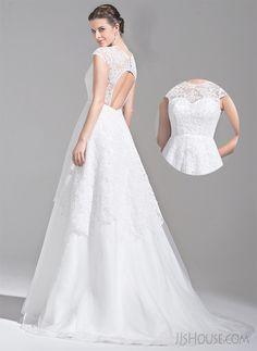sexy back wedding dress! #JJsHouse #JJsHouseWeddingDress