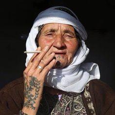 Kurdistan #tattooswomensfaces