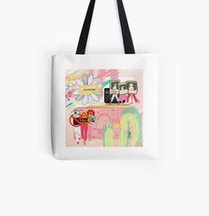 Large Bags, Small Bags, Cotton Tote Bags, Reusable Tote Bags, Best Tote Bags, Pink Abstract, Medium Bags, Are You The One, Casual Outfits