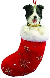 Border Collie Ornament - We own one of these - the dog (Border Collie mix) and the ornament :-)