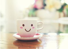 smiling cup of coffe!