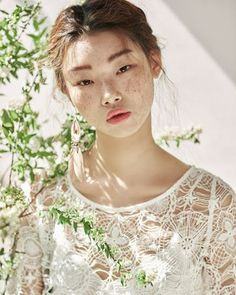 "Korean model: ""Kim Na Rae, Bae Yoon Young for Beauty+ April"