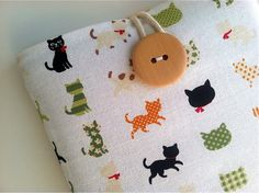 I don't own anything that needs a cover, but if I did it would be as cute as this!