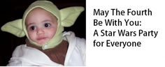 Star Wars parties for libraries-- ¿alguien recuerda a Spencer W K. Craft Activities For Kids, Kid Crafts, Reading Day, Star Wars Day, Library Programs, Page Turner, Long Time Ago, For Everyone, How To Plan