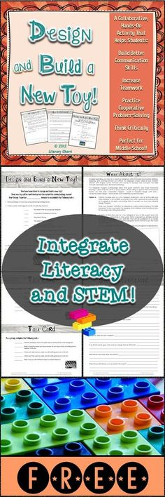 You have been hired to work with a team to design and build a new toy! Your toy will be marketed across the nation this coming holiday season! This collaborative, hands-on, ELA and STEM-aligned activity fosters team-building, critical thinking, collaborative problem-solving, communication, and social skills. Engaging, fun, proactive learning for back-to-school, half-days, special days . . . or any day! Writing assignments, grading rubrics, and CCSS included!
