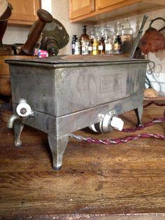Vintage industrial dental medical tattoo autoclave sterilizer steampunk porcelain knobs by Verbayna on Etsy
