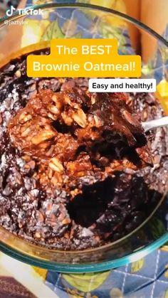 Healthy Sweets, Healthy Breakfast Recipes, Healthy Baking, Healthy Snacks, Fun Baking Recipes, Snack Recipes, Cooking Recipes, Dinner Recipes, Tasty Videos