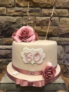 Ladies 60th Birthday Cake