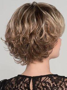 Flair Mono Wig by Ellen Wille – Kalın saçlar – Haare Short Shag Hairstyles, Haircuts For Curly Hair, Short Wavy Hair, Short Hair With Layers, Easy Hairstyles, Soft Layers, Short Pixie Haircuts, Layered Hair, Curly Hair Styles
