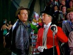 Scene shot from the Greatest show on earth (1952)