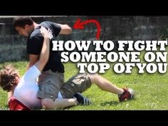 How To Fight Someone On Top of You - Ground Fighting - YouTube