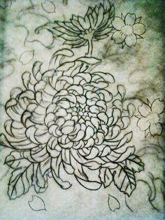 Chrysanthemum flower by ~jessicore666 on deviantART
