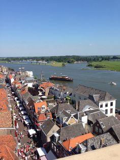 Oudestraat #Kampen vanaf de Nieuwe Toren